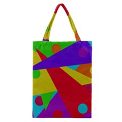 Colorful Abstract Design Classic Tote Bag by Valentinaart
