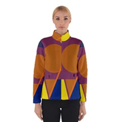Geometric Abstract Desing Winterwear by Valentinaart