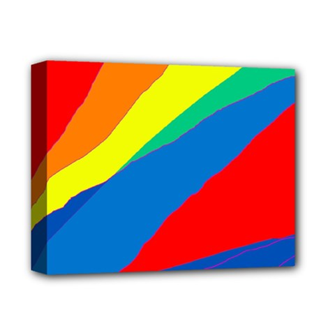 Colorful Abstract Design Deluxe Canvas 14  X 11  by Valentinaart