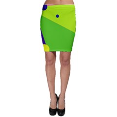 Colorful Abstract Design Bodycon Skirt by Valentinaart