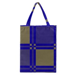 Blue Design Classic Tote Bag by Valentinaart