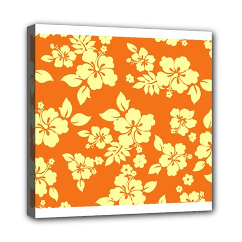 Sunny Hawaiian Mini Canvas 8  X 8  by AlohaStore