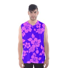 Hawaiian Evening Men s Basketball Tank Top