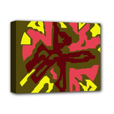 Abstract Design Deluxe Canvas 14  X 11  by Valentinaart
