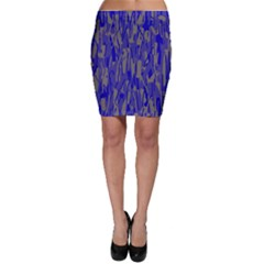 Plue Decorative Pattern  Bodycon Skirt by Valentinaart