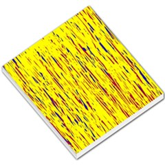 Yellow Pattern Small Memo Pads by Valentinaart