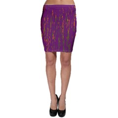 Purple Pattern Bodycon Skirt by Valentinaart