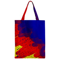 Colorful Pattern Zipper Classic Tote Bag by Valentinaart