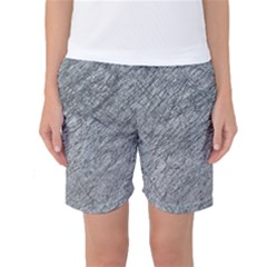 Gray Pattern Women s Basketball Shorts by Valentinaart