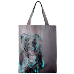 Dog Zipper Classic Tote Bag by NSAsStore