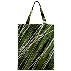 Green Decorative Pattern Classic Tote Bag by Valentinaart