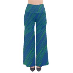 Green Pattern Pants by Valentinaart