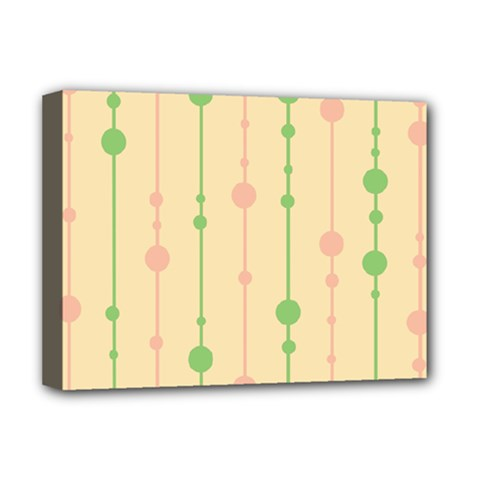 Pastel Pattern Deluxe Canvas 16  X 12   by Valentinaart