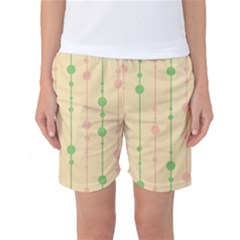 Pastel Pattern Women s Basketball Shorts by Valentinaart