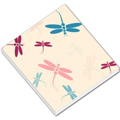 Pastel Dragonflies  Small Memo Pads by Valentinaart