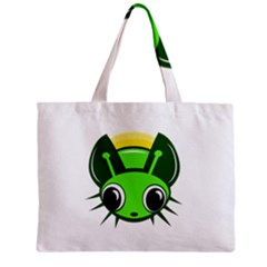 Transparent Firefly Zipper Mini Tote Bag by Valentinaart