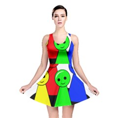 Don t Get Angry Reversible Skater Dress by Valentinaart