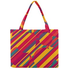 Colorful Hot Pattern Mini Tote Bag by Valentinaart