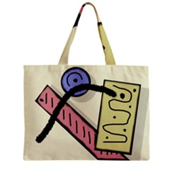 Decorative Abstraction Zipper Mini Tote Bag by Valentinaart
