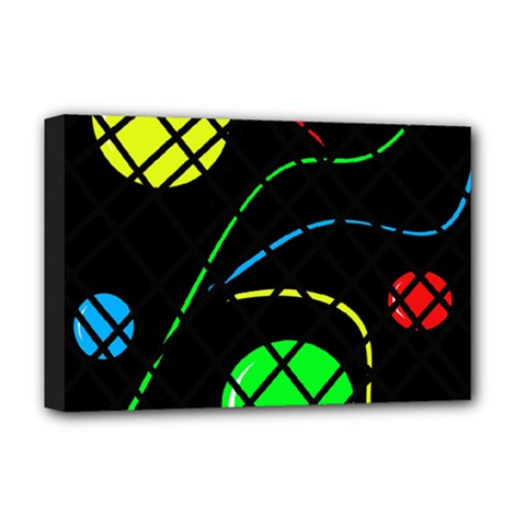 Colorful Design Deluxe Canvas 18  X 12