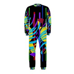 Colorful Abstract Art Onepiece Jumpsuit (kids) by Valentinaart