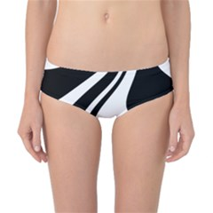 Black And White Pattern Classic Bikini Bottoms by Valentinaart