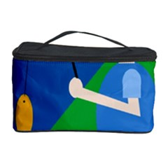 Fisherman Cosmetic Storage Case by Valentinaart