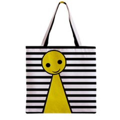Yellow Pawn Grocery Tote Bag by Valentinaart