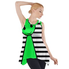 Green Pawn Side Drop Tank Tunic by Valentinaart