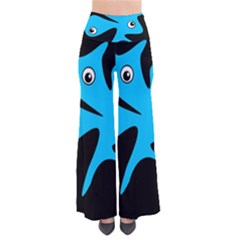 Blue Amoeba Pants by Valentinaart