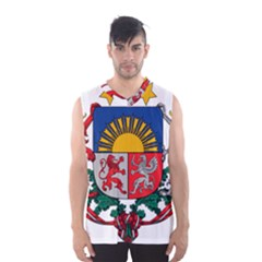 Coat Of Arms Of Latvia Men s Basketball Tank Top
