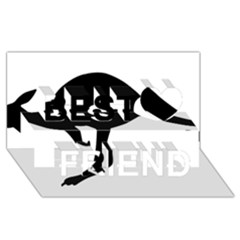 Roundel Of Australian Army Aviation Best Friends 3d Greeting Card (8x4)