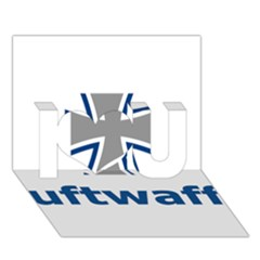 Luftwaffe I Love You 3d Greeting Card (7x5)