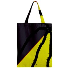 Spider Zipper Classic Tote Bag by Valentinaart