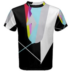 Colorful Abstraction Men s Cotton Tee by Valentinaart