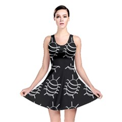 Bugs Pattern Reversible Skater Dress by Valentinaart