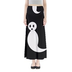 Ghost Maxi Skirts by Valentinaart