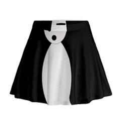 Ghost Mini Flare Skirt by Valentinaart