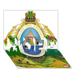 Coat Of Arms Of Honduras Hope 3d Greeting Card (7x5) by abbeyz71