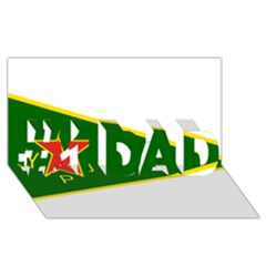 Flag Of The Women s Protection Units #1 Dad 3d Greeting Card (8x4) by abbeyz71