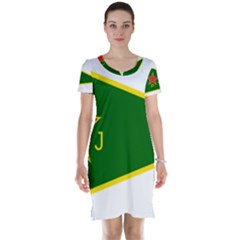 Flag Of The Women s Protection Units Short Sleeve Nightdress by abbeyz71