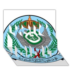 Emblem Of The Royal Saudi Air Force  You Did It 3d Greeting Card (7x5) by abbeyz71