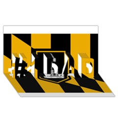 Flag Of Baltimore #1 Dad 3d Greeting Card (8x4)