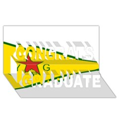 Flag Of The People s Protection Units Congrats Graduate 3d Greeting Card (8x4) by abbeyz71