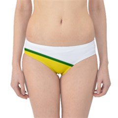 Flag Of The People s Protection Units Hipster Bikini Bottoms