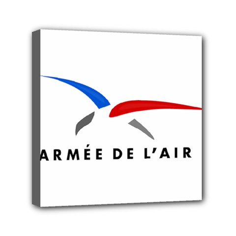 Logo Of The French Air Force (armee De L air) Mini Canvas 6  X 6  by abbeyz71