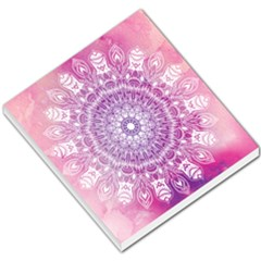 Pink Watercolour Mandala Small Memo Pads by TanyaDraws