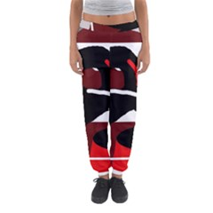 Crazy Abstraction Women s Jogger Sweatpants by Valentinaart