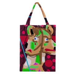 Abstract Animal Classic Tote Bag by Valentinaart