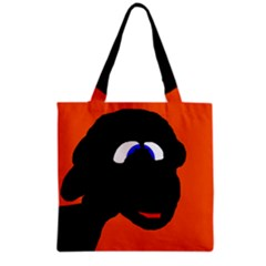 Black Sheep Grocery Tote Bag by Valentinaart